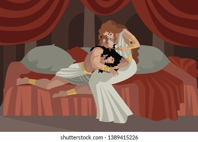 Samson and Delilah biblical tale