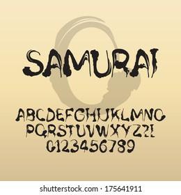 Japanese Font Images, Stock Photos & Vectors   Shutterstock