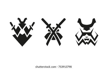 samurai logo images stock photos vectors shutterstock rh shutterstock com samurai logo design samurai logo png