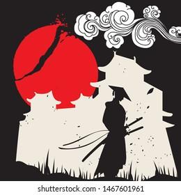 Vectores Imágenes Y Arte Vectorial De Stock Sobre Samurai