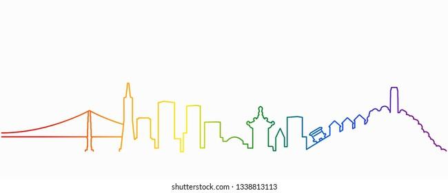 San Francisco Gay-Friendly Skyline