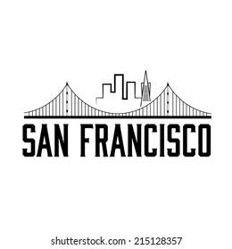 San Francisco skyline illustration