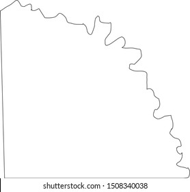 san saba county map in state of texas