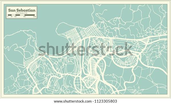 San Sebastian Spain City Map Retro Stock Vector (Royalty ... on pamplona spain map, spain and egypt map, seville spain map, santander spain map, san sebastian old town map, zaragoza spain map, toledo spain map, st. augustine beach map, valencia spain map, san sebastian puerto rico map, malaga spain map, san sebastian mexico map, paris france map, cordoba spain map, segovia spain map, barcelona map, madrid spain map, alicante spain map, marbella spain map, bilbao spain map,