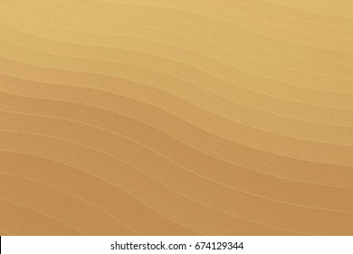 Sand vector desert background. Texture of sand and dunes. Color illustration