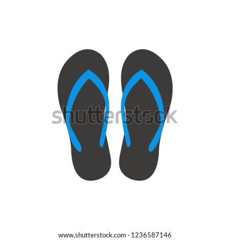 170c2d421d036 Sandal Graphic Design Template Vector Illustration Stock Vector ...