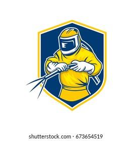 Sandblaster Logo Vector