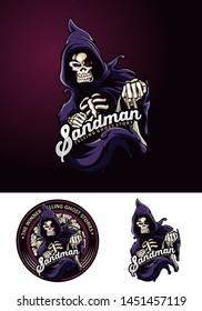 Sandman Gost Bone Hodiee Logo