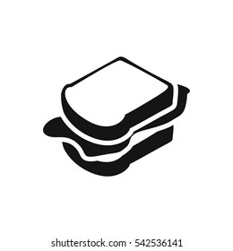 sandwich icon illustration isolated vector sign symbol