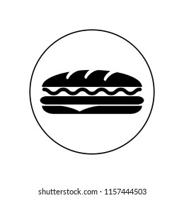 Sandwich icons. Vector, logo