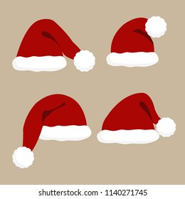 Christmas Hat Cartoon.Christmas Cap Images Stock Photos Vectors Shutterstock