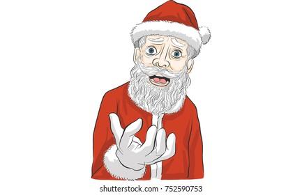 Santa claus action