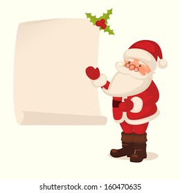 Santa Claus checking list