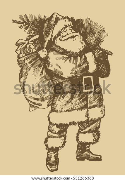 santa-claus-etching-style-drawing-600w-5
