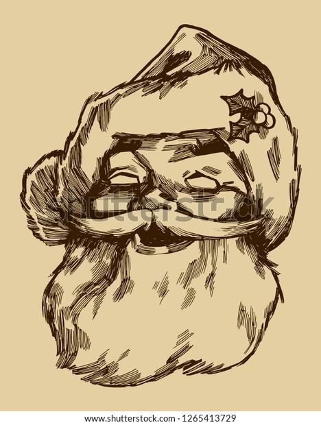 santa-claus-face-smiling-vintage-600w-12