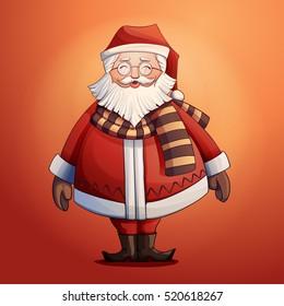 Santa claus laughing