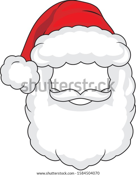 santa-claus-mask-isolated-on-600w-158450