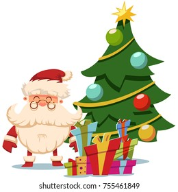 Christmas Tree Cartoon Images Stock Photos Vectors Shutterstock