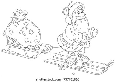 Christmas Images Cartoon Black And White.Christmas Cartoon Images Stock Photos Vectors Shutterstock