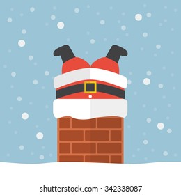 christmas chimney images stock photos vectors shutterstock