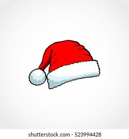 Christmas Hat Cartoon.Cartoon Santa Hat Images Stock Photos Vectors Shutterstock