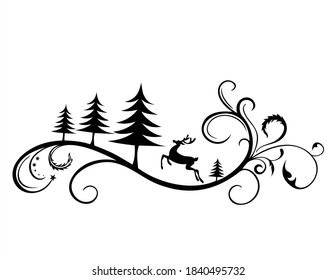 Santa Merry Christmas SVG | DXF is perfect for crafts, for cutting machine, for t-shirt, for printing, for walls, for diy or any project design you have in min