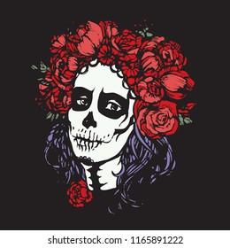 Santa Muerte Tattoo Images, Stock Photos & Vectors