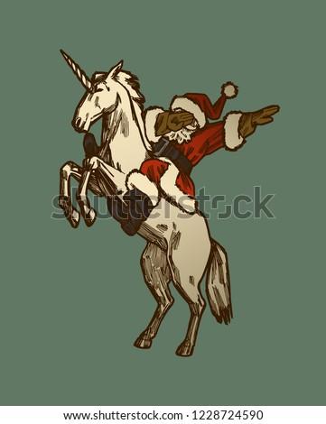 santa-riding-unicorn-dabbing-cool-450w-1