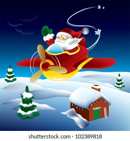 Santa's Flying Visit