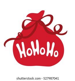 Santa's Gifts bag