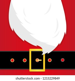 Santa's message banner. Santa background