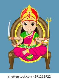 Santoshi Mata - Indian Goddess