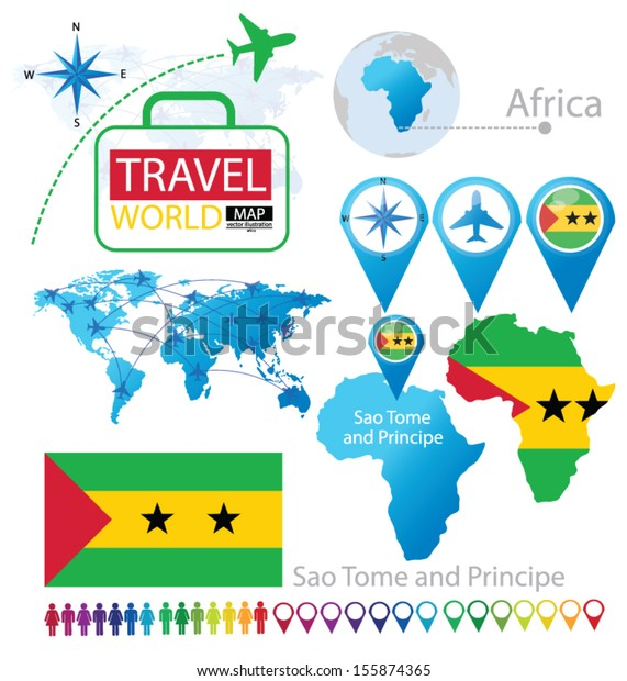 Sao Tome Principe Flag World Map Stock Vector (Royalty Free ... Sao Tome World Map on saudi arabia world map, mauritania world map, laos world map, liberia world map, japan world map, botswana world map, portugal world map, angola world map, switzerland world map, congo world map, norway world map, guantanamo bay world map, burundi world map, peru world map, bangladesh world map, denmark world map, tonga world map, brazil world map, france world map, n korea world map,