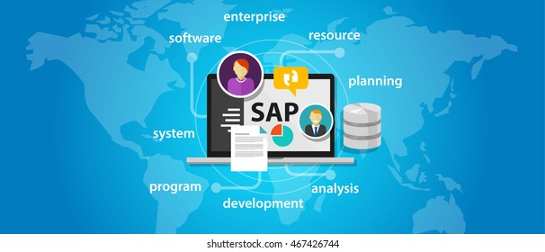 SAP system software enterprise resource planning global international
