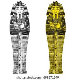 Sarcophagus vector.