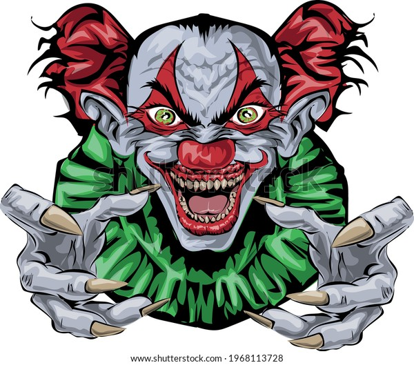 Sary Clown - Halloween art print