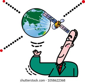 Satellite and information communication
