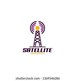 Satellite Logo Design