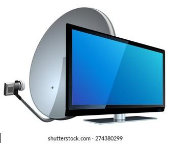 Satellite Tv Images Stock Photos Vectors Shutterstock