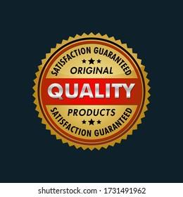 SATISFACTION GUARANTEED ORIGINAL PRODUCTS LOGO