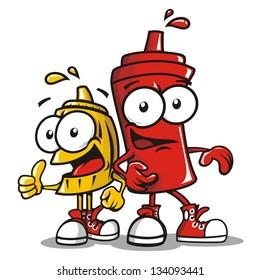 Sauces cartoon