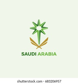 Saudi Arabia Creative Logo