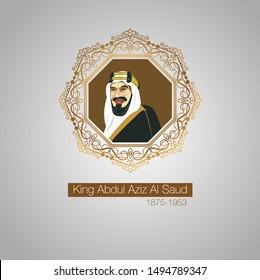 Saudi Arabia National Day 89, King Abdulaziz Al Saud