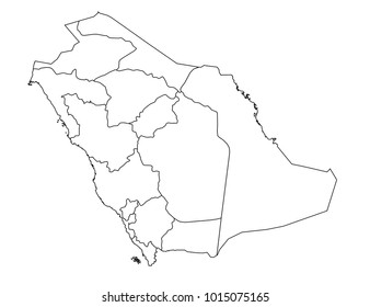 the hope s portfolio on shutterstock Polynesia Men saudi arabia outline map detailed isolated vector country border contour map on white background