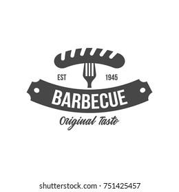 sausage icon. sausage logo