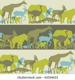 save  animal liberation -seamless  pattern brush and swath  included