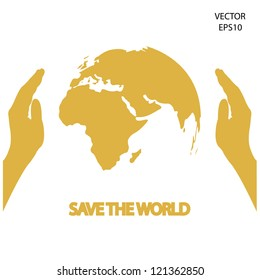 save the blue planet,save the earth,green environment,vector.