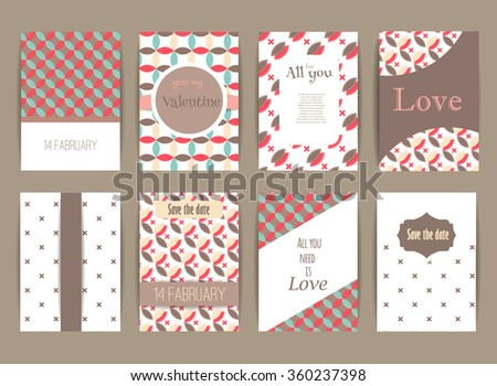 Save Date Baby Shower Valentines Day Stock Vector Royalty Free