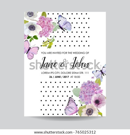 save date card wedding invitation template stock vector royalty