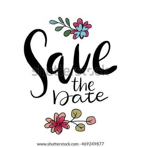save date templates labels card wedding stock vector royalty free